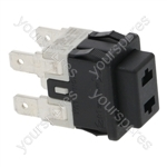 Delonghi/Gaggia Coffee Machine Bipolar Switch Black 16a 250v
