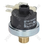 Elektra/Isomac/Pavoni Coffee Machine Pressure Switch Xp110 125 0.5-1.2 Bar 1/