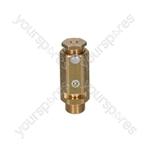 "Bfc OPERA /Rancilio/Sanremo Coffee Machine Boiler Valve ø 3/8""m - 1.8 Bar Ce/ped"