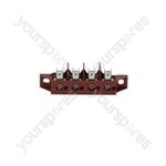 Bialetti SMART CF65 Amika/Angelo Po/Ata/Baron Dishwasher Hood Type Terminal Block 4-poles Fv173 40a 600v