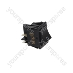 Bonnet/Expobar/Lavazza/Moretti Dishwasher Bipolar Switch Black 10a 250v