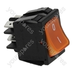 Anfim/Bezzera/Brasilia/Carimali Coffee Grinder Bipolar Switch Orange 16a 250v