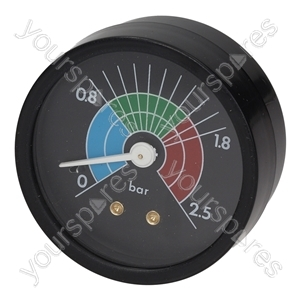 Cimbali Coffee Machine Boiler Pressure Gauge ø 57 Mm 0÷2.5 Bar