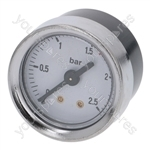 Lavazza/Rancilio Coffee Machine Boiler Pressure Gauge ø 40 Mm 0÷2.5 Bar