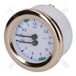 Bfc LA VITTORIA /Royal Coffee Machine Boiler-pump Pressure Gauge ø 63 Mm
