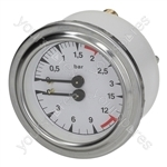 Reneka/San Marco Coffee Machine Boiler-pump Pressure Gauge ø 63 Mm