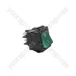 Adler/Fri Fri/Friulinox/Gaggia Dishwasher Bipolar Switch Green 16a 250v