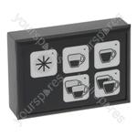 Bezzera B2006 COMPACT Bfc/Royal Coffee Machine Push-button Panel 5 Buttons