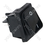 Bonnet/Cf Cenedese/Roller Grill Dishwasher Bipolar Switch Black 16a 250v