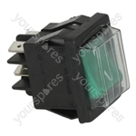 Cb/Dexion/Forcar/Pizza Group Bread Toaster Bipolar Switch Green 16a 250v
