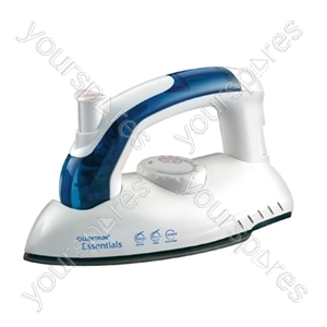 HomeLife 750w Travel Steam Iron - Non-Stick Soleplate
