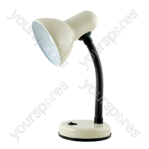 35w 'Classic' Flexi Desk Lamp - Cream