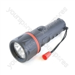 HomeLife 2D Rubber LED Torch