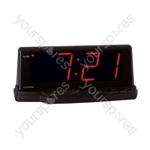 Prelude'' 1.8'' Jumbo Red Led Alarm Clock
