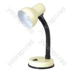 35w 'Mini Classic' Small Flexi Desk Lamp - Cream