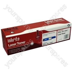 Inkrite Laser Toner Cartridge compatible with Dell 3100cn Hi-Cap Cyan