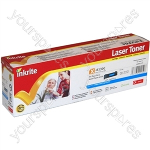Inkrite Laser Toner Cartridge compatible with Xerox Phaser 6130 Cyan