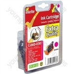 Canon MultiPass 450 NG Printer Ink i560 i865 i950 S800 BJC6000 iP4000 - BCI-6 Magenta (Elephant, Giraffe)