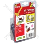 Inkrite NG Printer Ink (Chipped) for Canon iP6600D iP6700D Pro9000 - CLI-8PM Ph Mag (Horse)