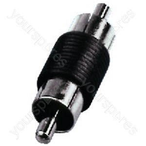 RCA Phono Coupler - Rca Adapters