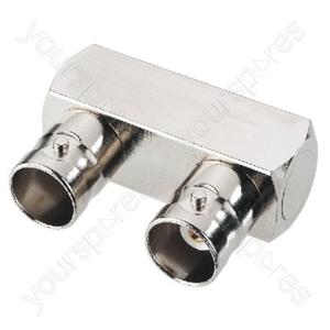 BNC Double Jack U-Shape - Bnc Connector, U-shape