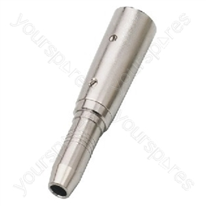 XLR Adaptor - Adapter Xlr/6.3mm Stereo Inline Jack