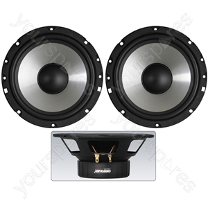 Car Speaker Pair - Kick Bass Speakers Which Perfectly Combine A Modern Finish With The Application Of Approved And Optimised Materials.