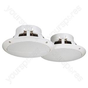 Marine Loudspeaker - Pairs Of Flush-mount Speakers
