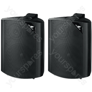 2way Speaker Cabinet - Pair Of 2-way Speaker Systems, 60 w<sub></sub>, 4 ω