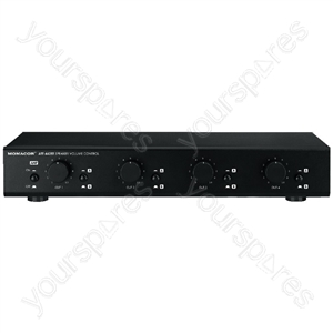 Volume Control - 4-channel Speaker Volume Control, Stereo