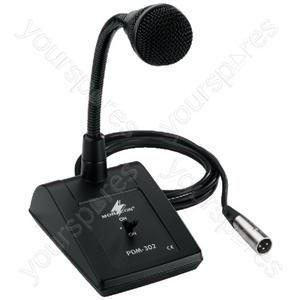 Dynamic Desk Mike - Pa Desktop Microphone