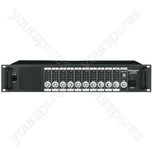 Monitor Unit - Monitor Unit, 10 + 1 Channels