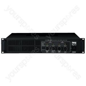 Amplifier - 4-channel Professional Pa Amplifier, 1,000w