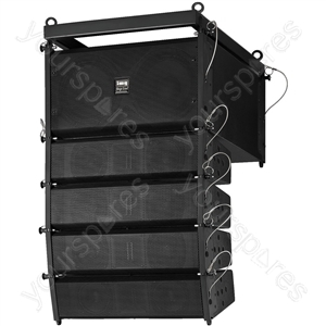 Active Line Array - Professional State-of-the-art Pa Technology At A Compact Size:
