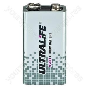 Lithium Battery - 9 V Lithium Battery, High-energy