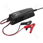 Lead-Battery Charger max. 4A - Charger For Rech. Lead Batteries, 6 v, 12 v, 4 a max.