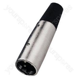 Microphone Plug XLR - Xlr Plug, 3 Poles