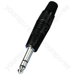 6.3mm Stereo Plug - Neutrik 6.3mm Stereo Plug