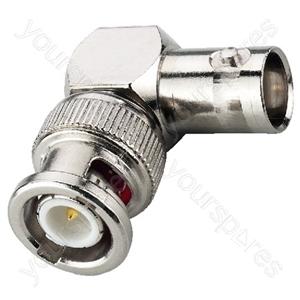 BNC Angled Coupling - Bnc Plug, 50ω