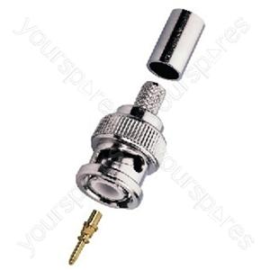 BNC Plug - Bnc Crimp Plugs, 75ω