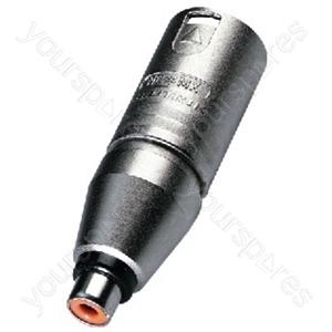 Adaptor - Neutrik Adapter Xlr/rca Jack
