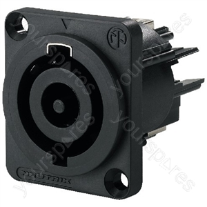 PowerCon Chassis Jack - Neutrik Powercon Panel Jack