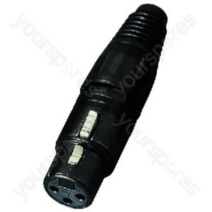 XLR Jack - Neutrik Xlr Inline Jack, 3poles