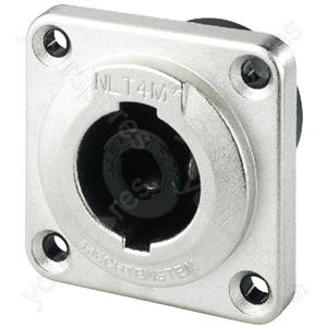 Speakon Chassis Jack, IP54 - Neutrik Speakon Connectors