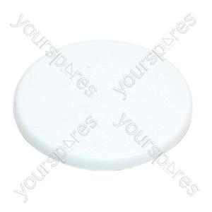 Electrolux White Washing Machine Timer Knob Cover
