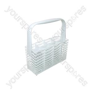 Zanussi White Narrow Dishwasher Cutlery Basket