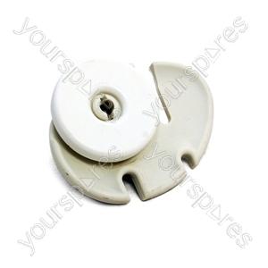 Zanussi Dishwasher Right/Rear Lower Basket Wheel