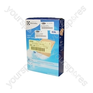 Electrolux Vacuum Cleaner Paper Bag - Pack of 5 (E3N)