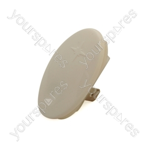 Whirlpool White Cooker Ignition Button