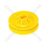Electrolux Washer Dryer Yellow Motor Pulley